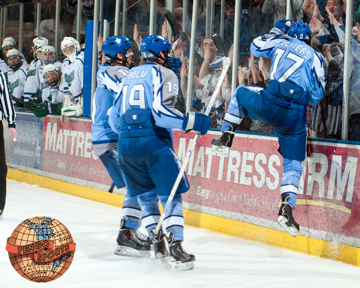 Air Force sweeps Mercyhurst on the back of tonight's 2-0 victory.