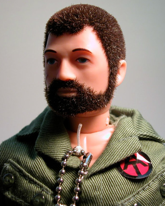 G.I. Joe Jason Pridie before one of his secret missions.